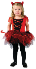 Devilina Toddler Costume