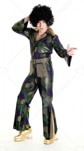 Disco Fever Men Adult Costume
