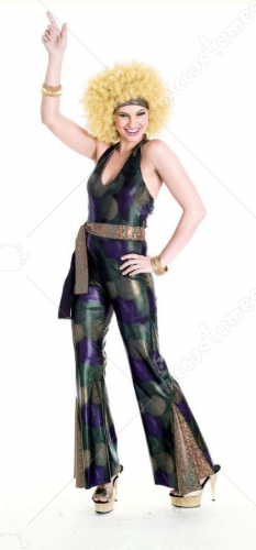 Disco Star Womens Costume
