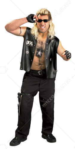 Dog The Bounty Hunter Plus Size Adult Costume