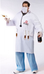 Dr Shots Male Plus Size Adult Costume