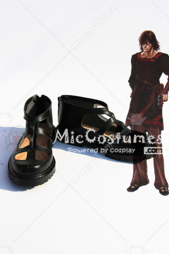 Drag On Dragoon 2 Love Red Ambivalence Black Gain Cosplay Shoes