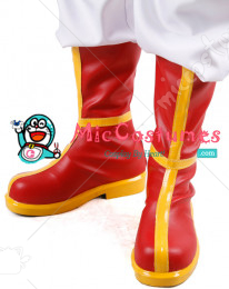 Dragon Ball Chi Chi Cosplay Shoes