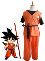 Dragon Ball Goku Cosplay Kids Costume With Kame Letter
