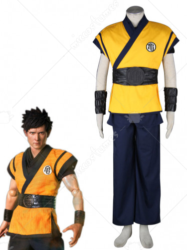 Dragon Ball Evolution Goku Gi Cosplay Costume
