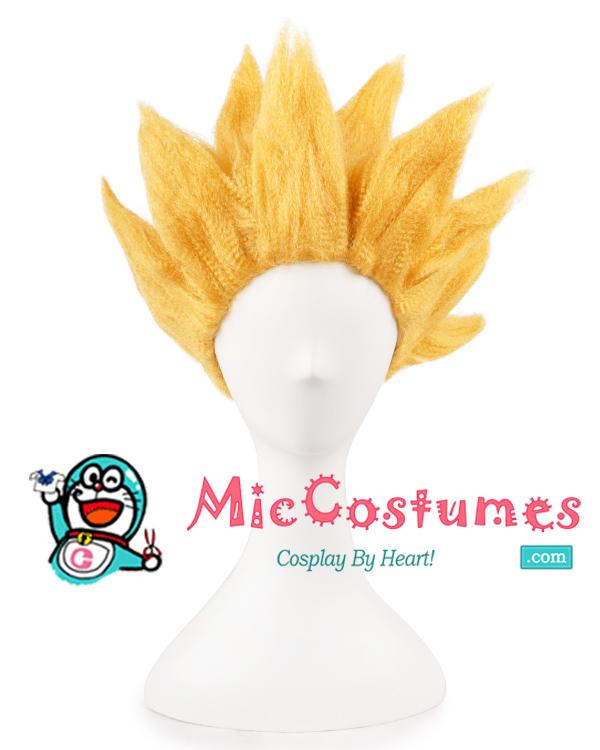 Drachenball Goku Cosplay Perücke