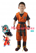Dragon Ball Sohn Goku Kinder Cosplay Kostüme