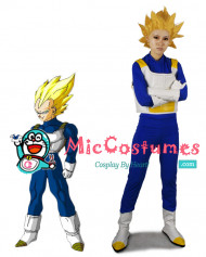 Dragon Ball Vegeta Super Saiyan Cosplay Costume