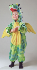 Dragon Green Yellow Costume