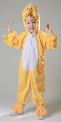 Duckling Yellow Plush Costume