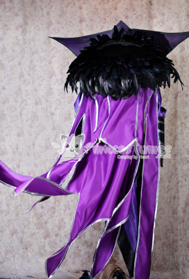 Exclusive Handmade League of Legends Ravenborn LeBlanc Cosplay Costume with Armor Set