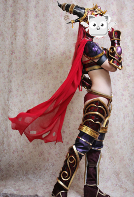 Exclusive Handmade World of Warcraft Alexstrasza Queen of the Dragons Cosplay Costume Armor Set