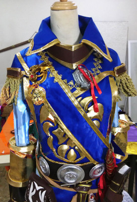 Exclusive Handmade Blizzard World of Warcraft Hearthstone Anduin Llane Wrynn Cosplay Costume Armor Set