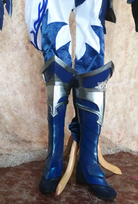 Exclusive Handmade League of Legends Riven the Exile Championship Riven Cosplay Costume Armor Set
