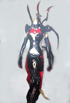 Exclusive Handmade League of Legends Elise The Spider Queen Cosplay Costume Armor Set