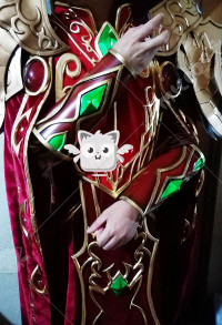Exclusive Handmade World of Warcraft Prince of Quel'Thalas Kael'thas Sunstrider Cosplay Costume Armor Set