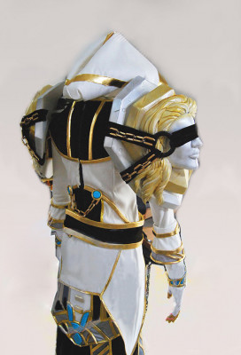 Exclusive Handmade World of Warcraft Priest S3 Cosplay Costume Armor Set for Male