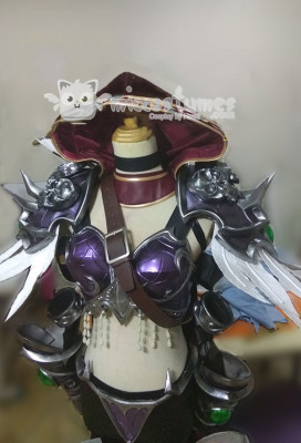 Exclusive Handmade World of Warcraft Queen of the Forsaken Sylvanas Windrunner Cosplay Costume Armor Set
