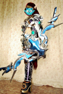 Exclusive Handmade World of Warcraft Queen of the Forsaken Sylvanas Windrunner Cosplay Costume Armor Set