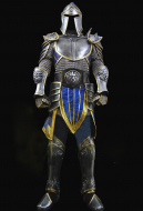 Exclusive Handmade World of Warcraft Stormwind City Guard Cosplay Costume Armor Set