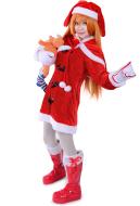 Neon Genesis Evangelion Asuka Langley Soryu Christmas Cosplay Costume