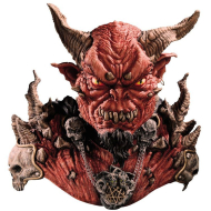 El Diablo Mask and Shoulders