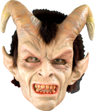 Elegant Devil Latex Mask