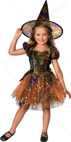 Elegant Witch Toddler Costume
