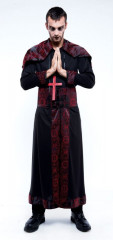 Endless Options Black Red Robe