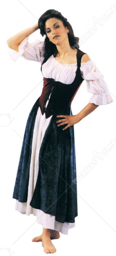 Esmeralda Village Wench Costume