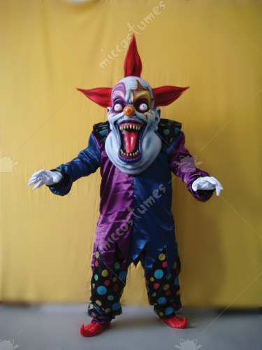 Evil Clown Oversize Adult Costume