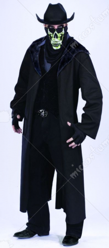 Evil Outlaw Adult No Hat Standard Adult Costume