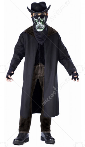 Evil Outlaw Child No Hat Costume