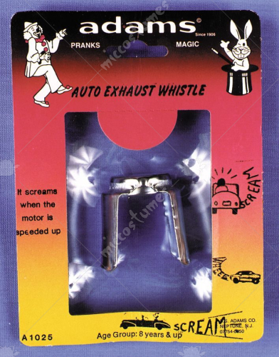 Exhaust Whistle Rack Pack