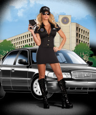 FBI Agent MIA Babe Adult Costume