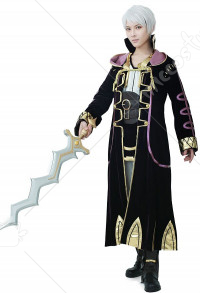 Premium Fire Emblem: Awakening Robin Cosplay Costume Including Feature Boots Cover