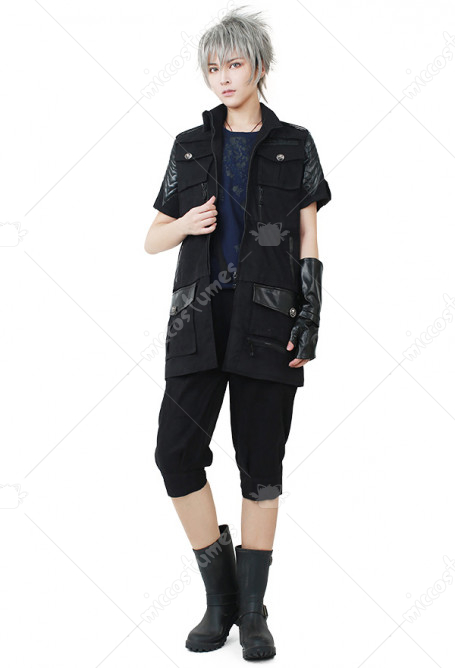 Final Fantasy FF15 XV Noctis Lucis Caelum Cosplay Costume Outfit (undershirt and glove included)