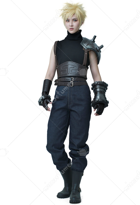 Disfraz Cosplay de Final Fantasy VII Remake Cloud Strife