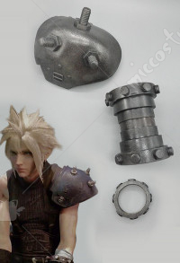 Cosplay armure établit de Cloud Strife dans Final Fantasy VII Remake