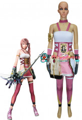 Final Fantasy XIII-2 Serah Farron Cosplay Costume