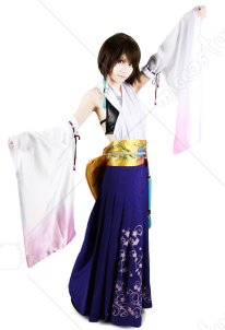 Final Fantasy X Yuna Summoned Cosplay Costume