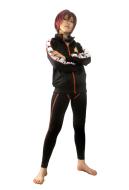 Free! Iwatobi Swim Club Rin Matsuoka Cosplay Costume Sportswear