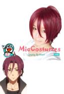 Free! Iwatobi Swim Club Rin Matsuoka Cosplay Wig