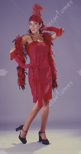 Flapper Fab Red Costume