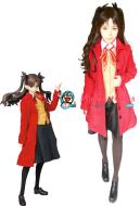 Fate Stay Night Rin Tohsaka Cosplay Costume