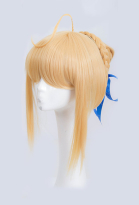 Fate Stay Night Fate Grand Order FGO Saber Artoria Pendragon Cosplay Wig