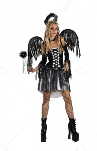 Fairy Licious Fallen Angel Teen and Tween Costume