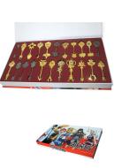 Fairy Tail Lucy Star Spirit Key Set of 22