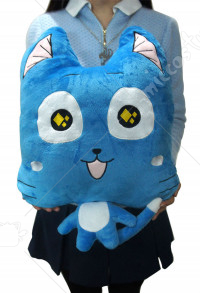 Fairy Tail Happy Stuffed Toy Pillow
