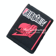 Fairy Tail Bifold Canvas Wallet Black